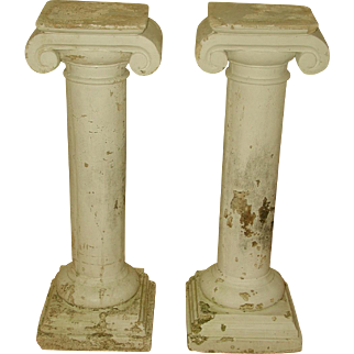 Plaster Columns Table Base Architectural