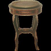 Inlaid Italian Table Bronze Mounts 19th C