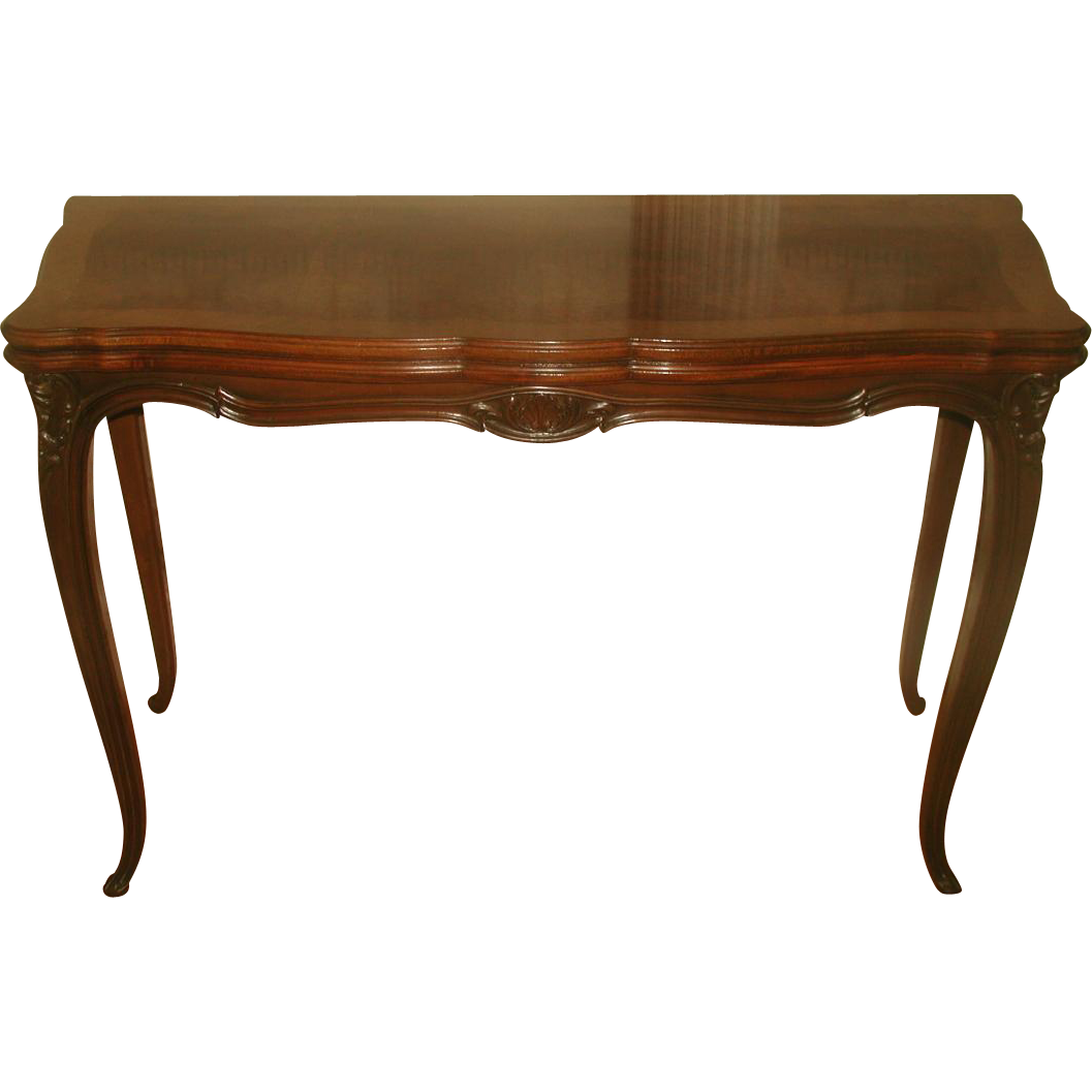 Dining Game Table Walnut Burl Flip Top Harrod's