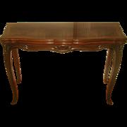 Game Dining Table Harrod's Flip Top Walnut Burl