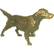 Copper Cast Setter  England 19th Century