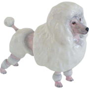 Royal Doulton White French Poodle Figurine #HN2631