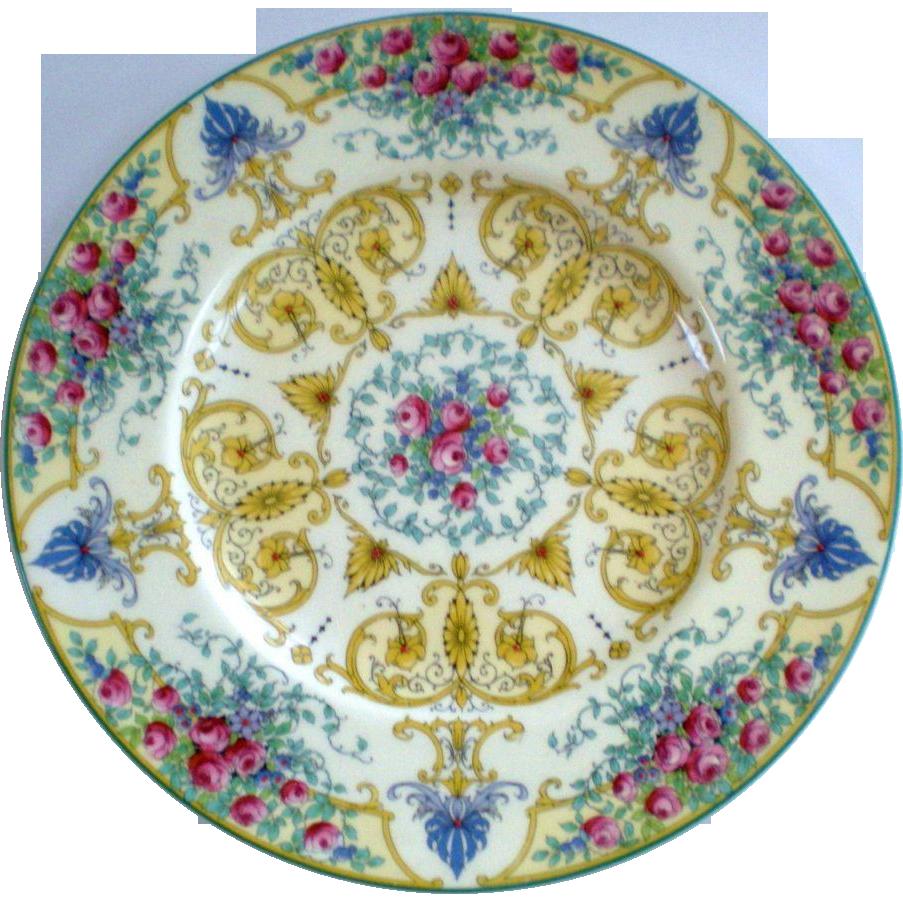 Beautiful set of 8 royal worcester 10 3 8 cabinet plates Beautiful plates
