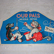 Darling Needle Book-Our Pals-West Germany