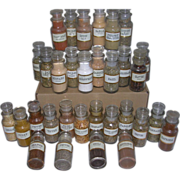 Wagner & Sons Glass Spice Jar Collection of 32