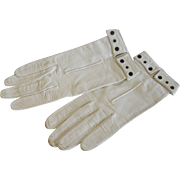 1950's Kid Leather Gloves Made by Trefousse of Paris