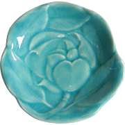 Rookwood Pottery Water Lily Trinket Dish 1945