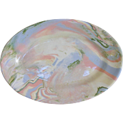 Buffalo China Mulifleure Oval Serving Side Plate