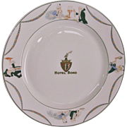 Syracuse China Hotel Bond Dinner Plate