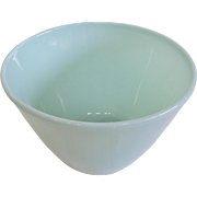 Fire King Turquoise Blue Large Mixing Bowl 1950's