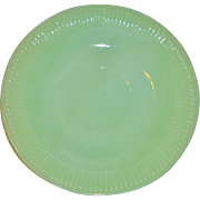 Anchor Hocking Fire King Jadeite Saucer