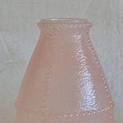 Vintage Pink Fairy Lamp Shade-Diamond Candle Co. Brooklyn, NY