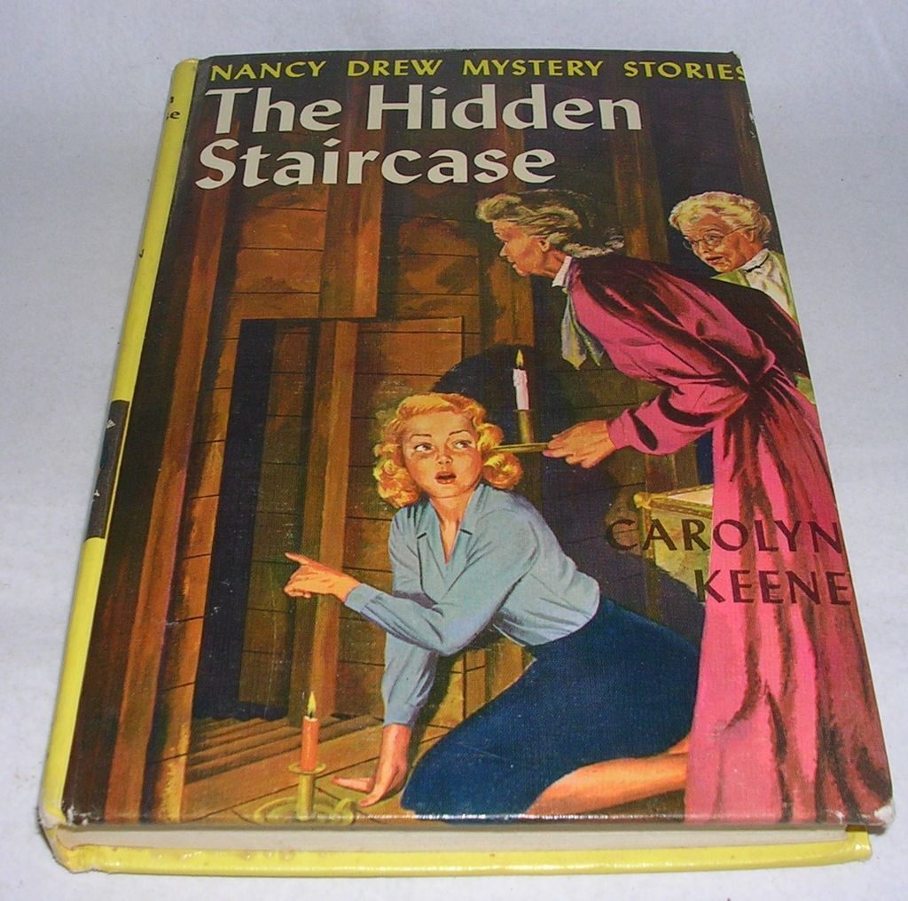Lovely Vintage 1959 Nancy Drew The Hidden Staircase   Red Tag Sale Item