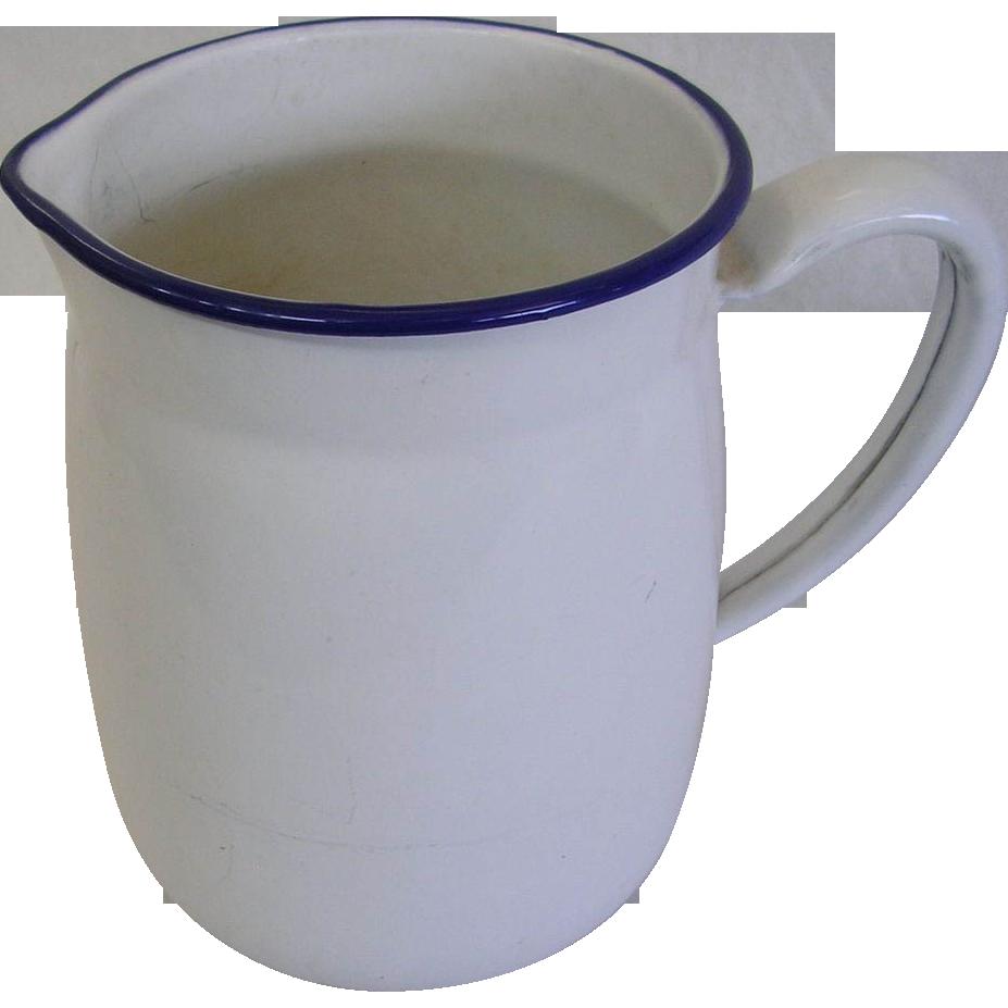 Vintage White Enamelware 69