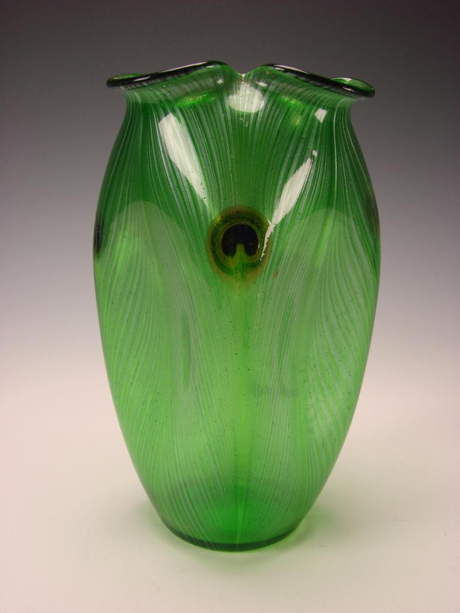rare antique loetz lotz glass peacock iridescent glas vase. Black Bedroom Furniture Sets. Home Design Ideas