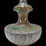 Authentic Antique Sevres c1900 Crystalline Pottery Double Gourd Vase