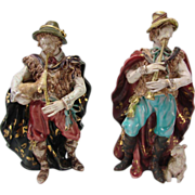 GREAT Prof Pattarino Italian Ceramic Pottery Figurine Grouping
