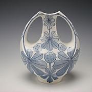 Art Nouveau Jugendstil Rorstrand Dessin Alf Wallander Pottery Vase c1900