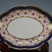 Antique Italian Ginori Nut Plate Bowl Side Dish Signed
