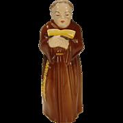 Vintage Royal Worcester Friar China Porcelain Candle Snuffer