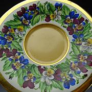 Antique 18/19c Royal Vienna Porcelain Hand Painted Plate Authentic c1800