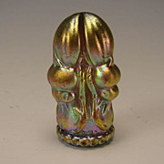 Antique Tiffany & Co Iridescent Glass Figural Scarab Wax Seal