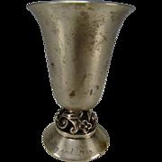 Art Deco International La Paglia Sterling Vase