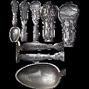 Fine figural Lewis & Clark 1905 Exposition Souvenir Spoon