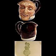 Royal Doulton Small Size Character Jug  Farmer John
