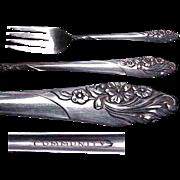 Community Plate Evening Star Pattern Salad/Dessert Fork