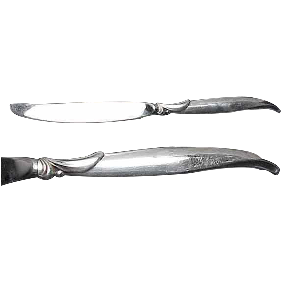 1847 Rogers Bros Flair Pattern (6) Dinner Knives