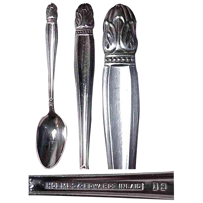 Holmes & Edwards Danish Princess Silverplate Pattern Teaspoon