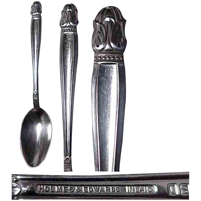 Holmes & Edwards Danish Princess Pattern Tablespoon
