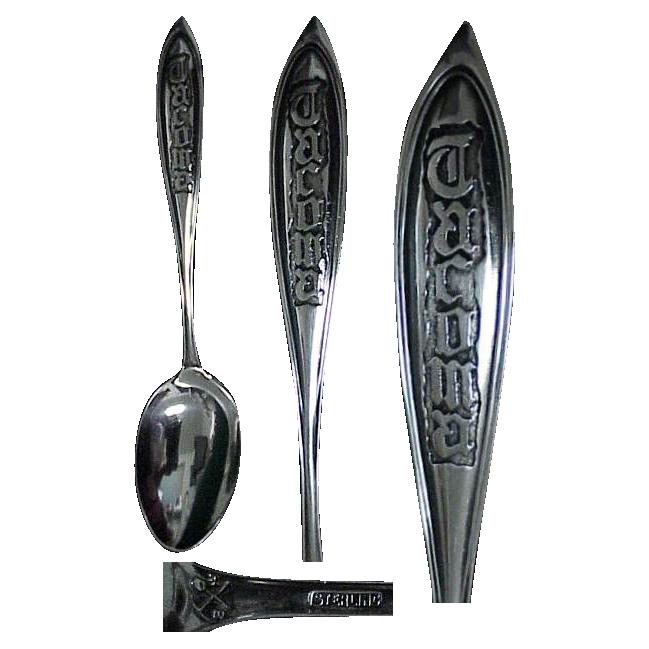Sterling Silver Tacoma Washington Souvenir Spoon