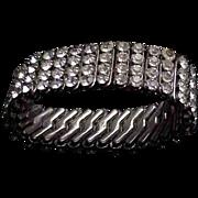 Expandable Rhinestone Bracelet