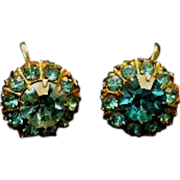 Early Screw-Back Coro Earrings