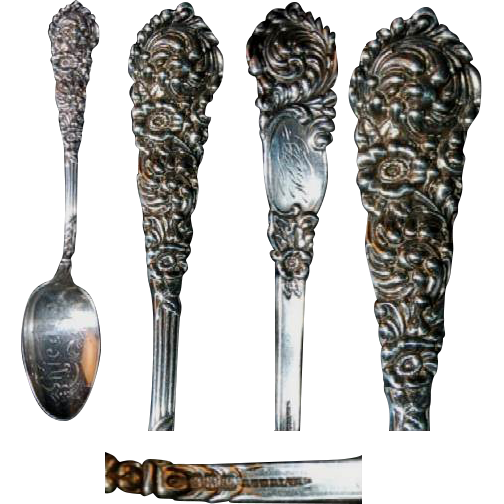 "Heavy Sterling Souvenir Spoon ""Chicago"""