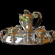 Rare Alphonse La Paglia Sterling Coffee Service