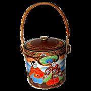Japanese Biscuit Jar/Cracker Jar