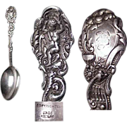 "Early Gorham Sterling Silver Versailles 6"" Teaspoon"