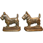 Bronze Scotty Dogs Bookends