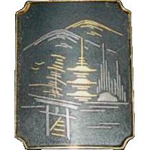 Siamese Pagoda Pin