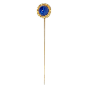 Old Stickpin with Blue Stone