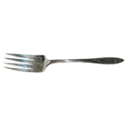 Adam Community Silverplate Cold Meat Fork