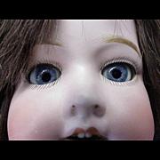 """21 1/2"""" / circa 1915 - 1922 Bisque Morimura Bros. Child Doll"""