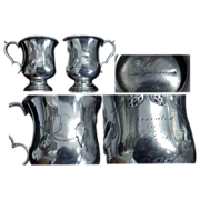 Mid 19th Century Coin Silver Mug