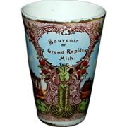 Colorful Souvenir Tumbler from Grand Rapids Michigan
