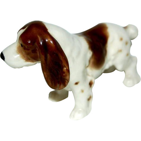 Cocker Spaniel Dog figurine marked Germany