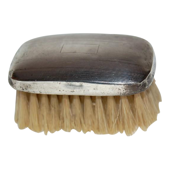 1910's Watson Company Sterling Silver Baby's Brush