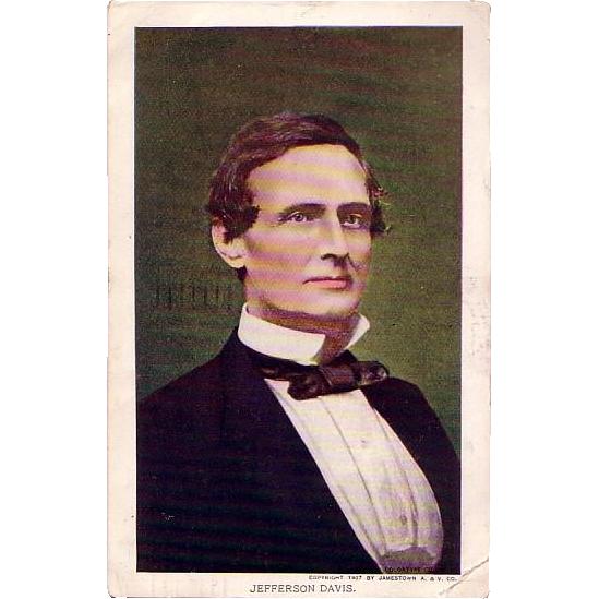 Jefferson Davis Postcard